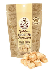 Kellys Candy Co Golden Roasted Coconut Toasted Mallows (140g)