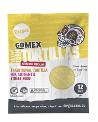 Diego's GoMEX Yellow Corn Tortilla 10pk (276g)