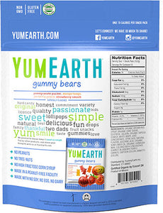Yum Earth Gummy Bears (71g)