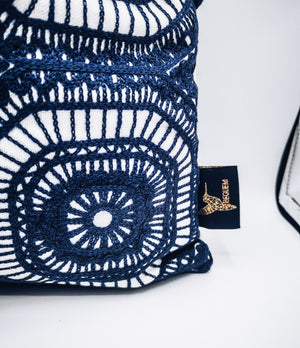 Hicks Cushion - Blue