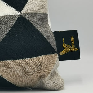 Mosaic Cushion - Black