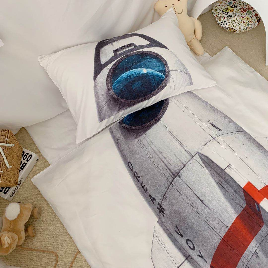 Spacecraft kids Bed Suit