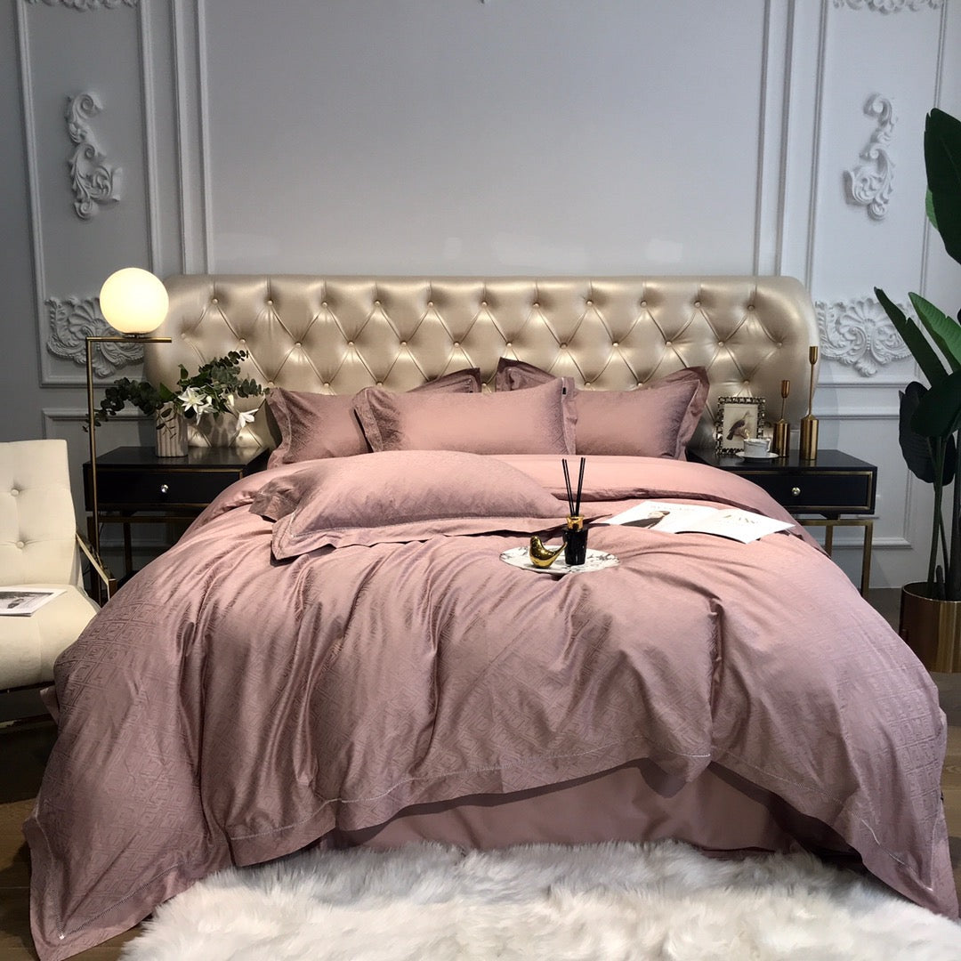 Karree Bed Suit - Rose Gold