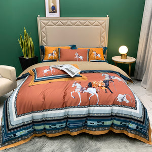 Arabian Bed Suit - Copper