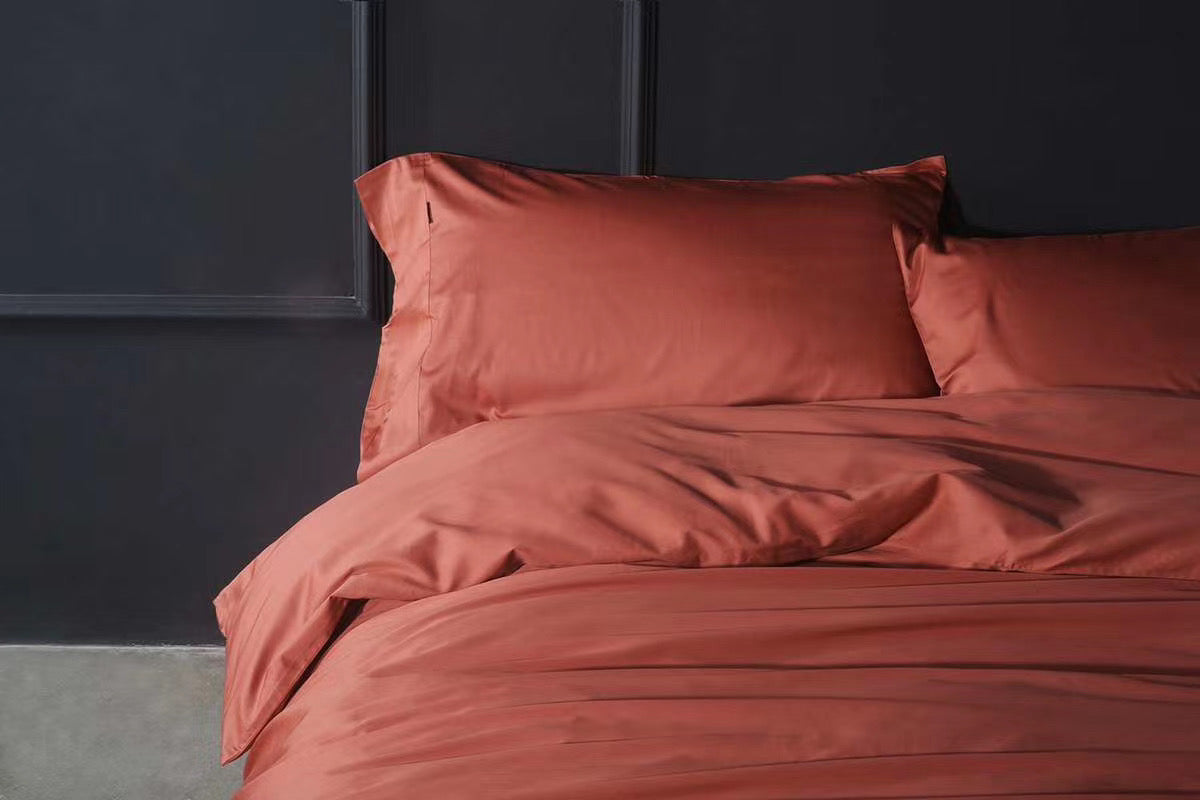 Rein Bed Suit - Dark Coral