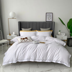Anglo-Arabian White Bed suit