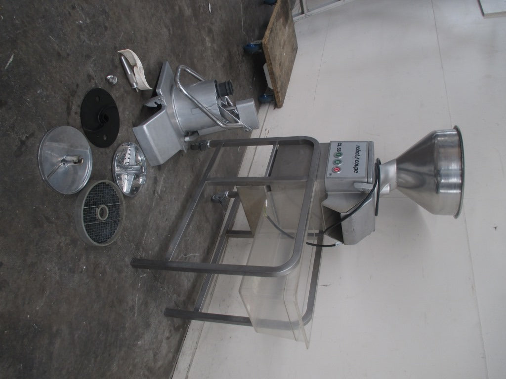 Robot Coupe CL55 2 Feed Heads (3)