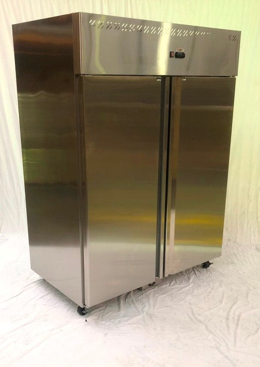 Frigrite BFA-14A 2 Door Upright Fridge (4)