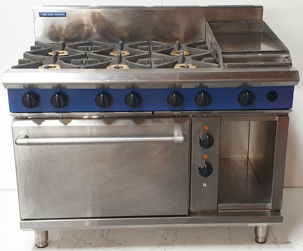 Blue Seal GE508C Range Oven Combo (2)