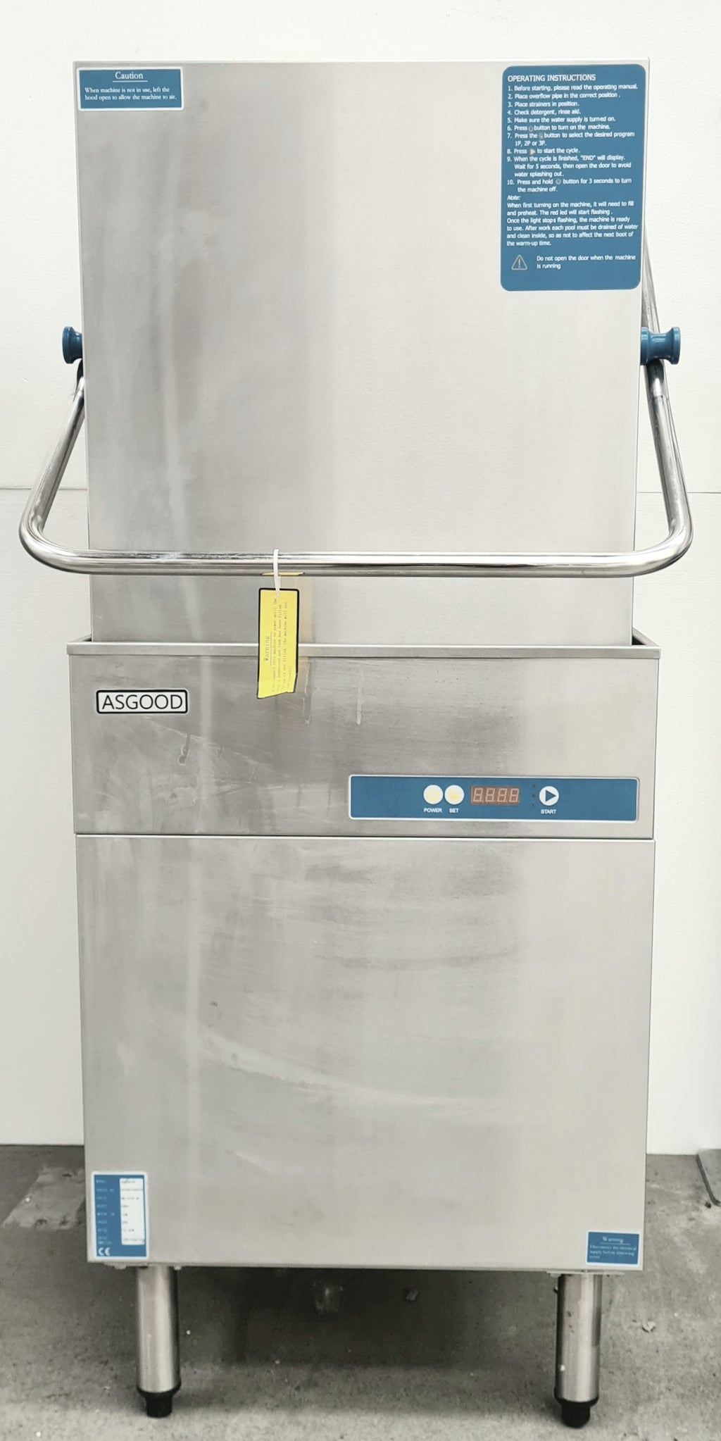 Asgood AXE601D Passthrough Dishwasher (2)