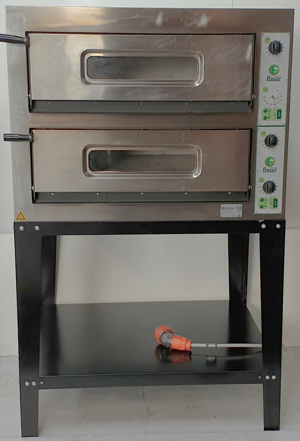 Fimar Twin Deck Pizza Oven on Stand (2)