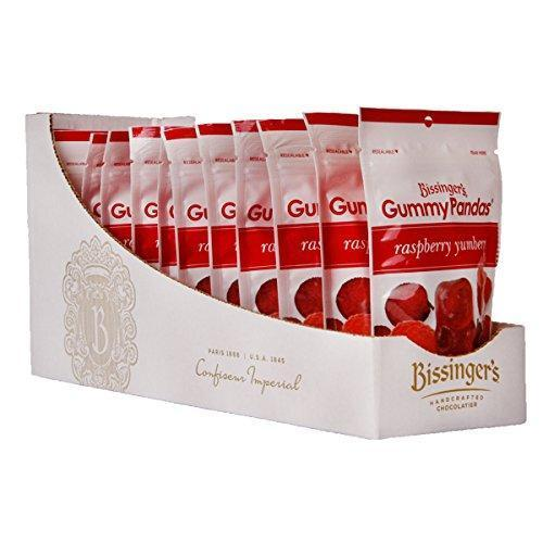 Gummy Pandas, Raspberry Yumberry, 3 Ounce Bag, 12 Pack