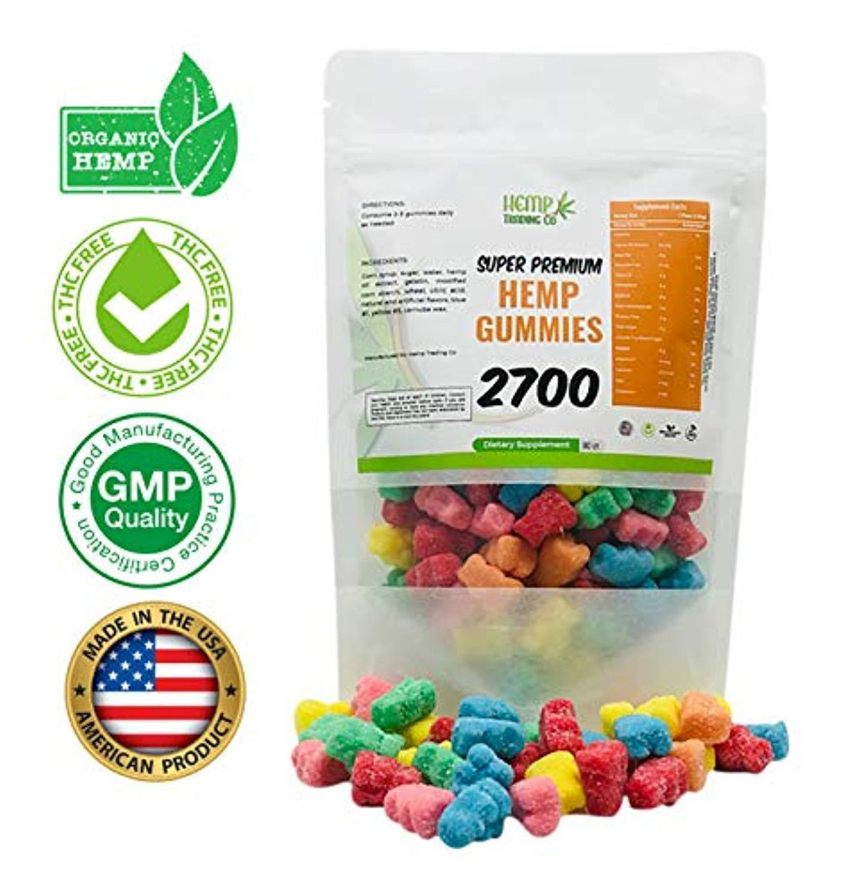CBD  Gummies 2700 mg