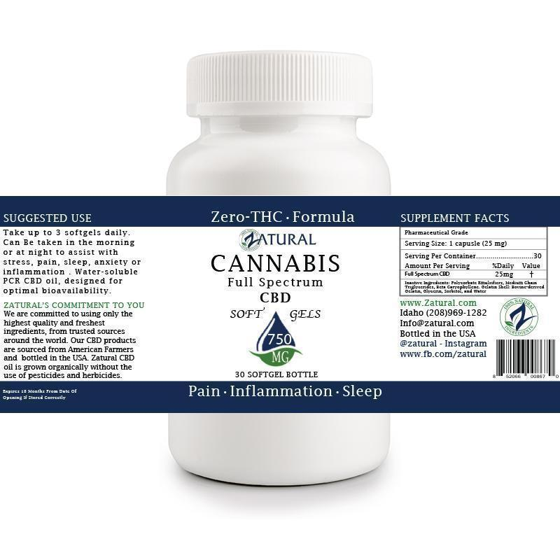 CBD Full Spectrum SoftGels 25mg