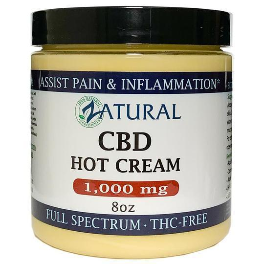 CBD Hot Cream(1,000mg 8oz)