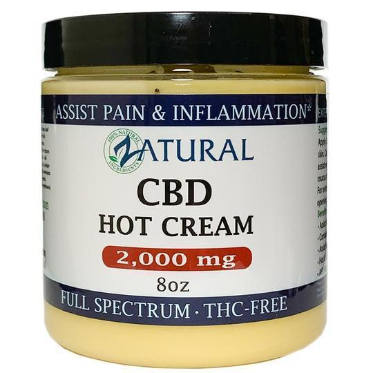CBD Hot Cream(2,000mg 8oz)