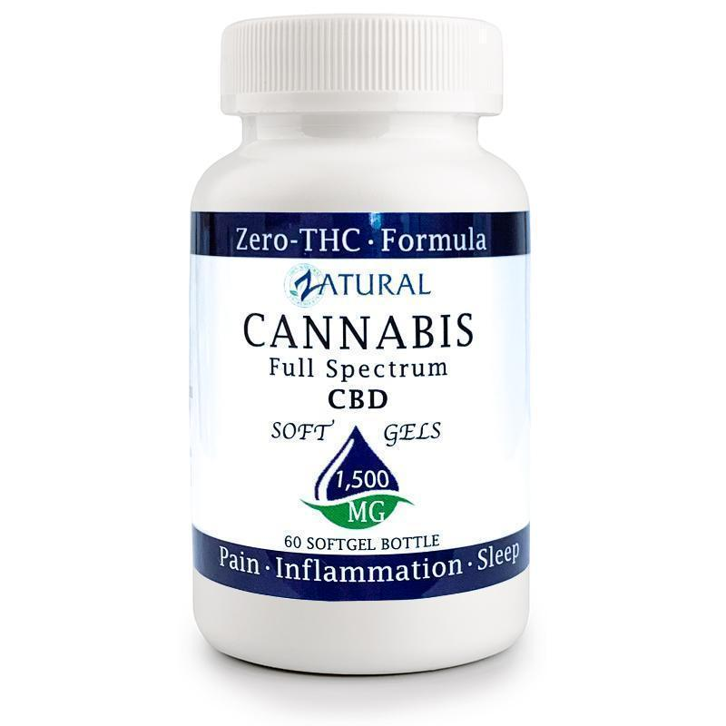 CBD Full Spectrum SoftGels 1,500mg