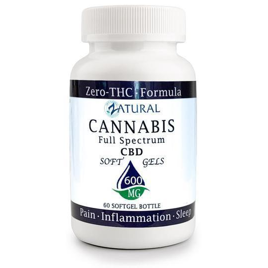 CBD Full Spectrum SoftGels 600mg