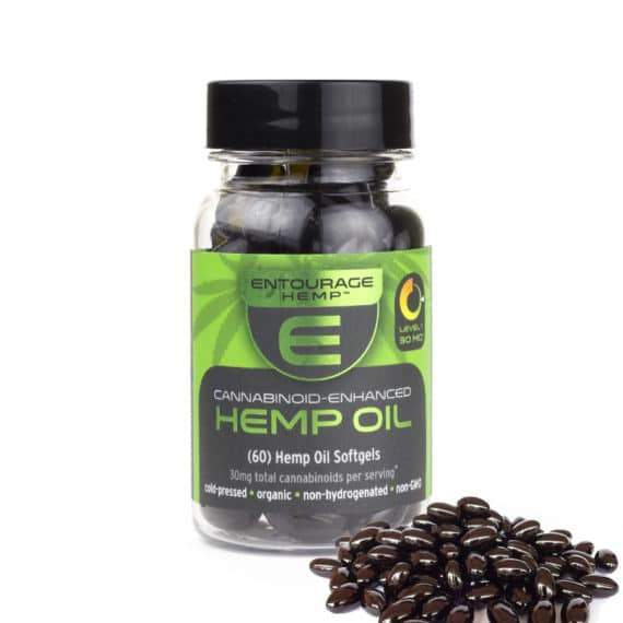 Hemp Cannabinoid Capsules 60 Count (900mg CBD)