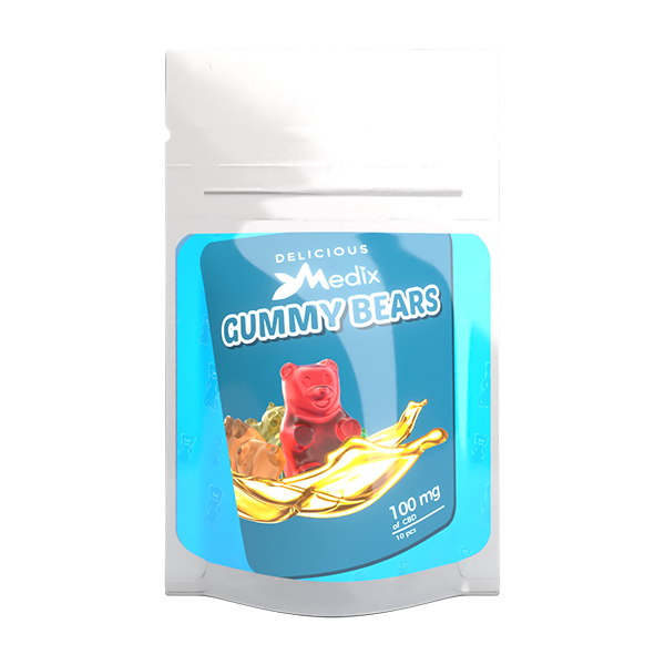 CBD Gummies Bears Shape