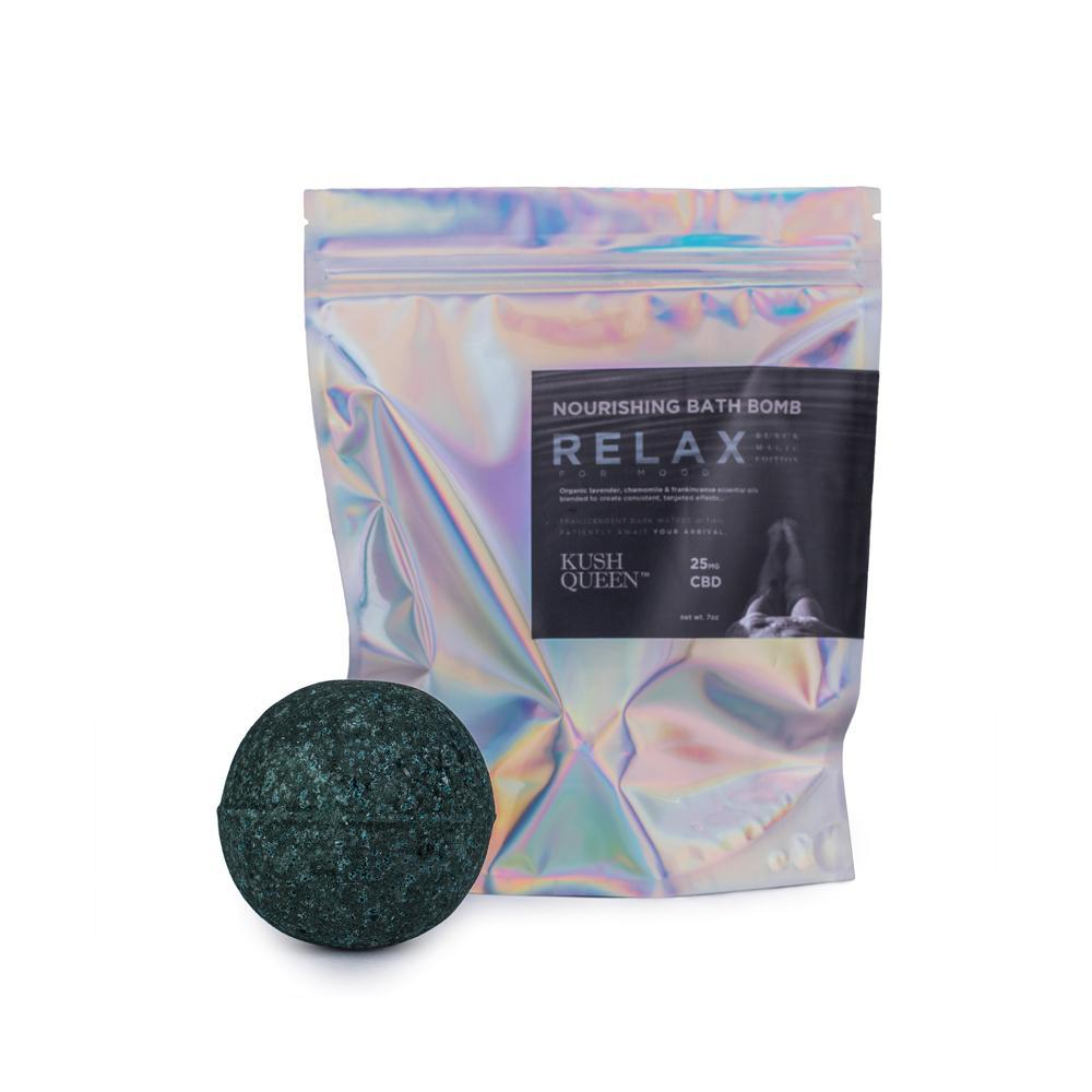 BLACK MAGIC CBD BATH BOMB