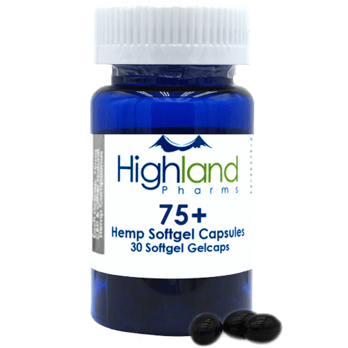Hemp Softgel Capsules 75mg