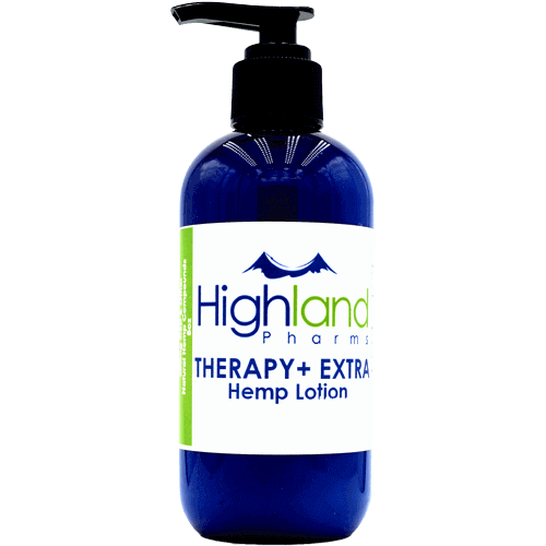 Therapy+ CBD Lotion – 400mg CBD (Small Pump Bottle)