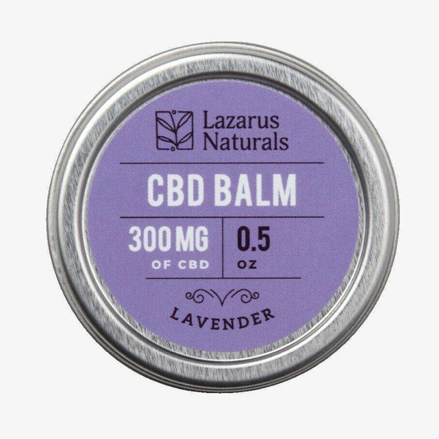 Naturals 300 mg CBD Lavender Balm Topical Pain Relieving Healing 0.5 OZ
