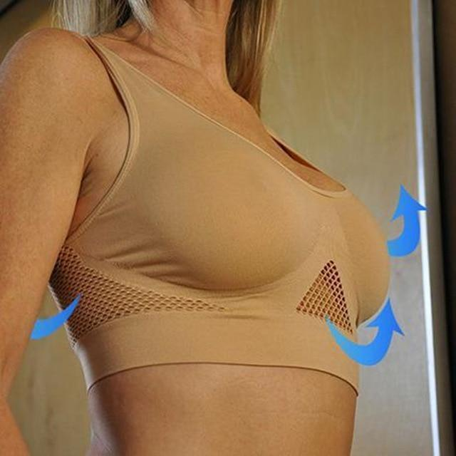 AirBra - Premium Invisible Wireless Push Up Lifting Bra