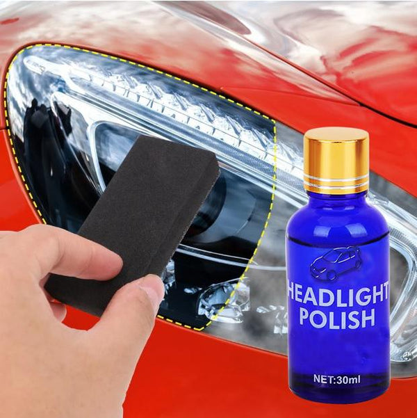 Car Headlight Polish