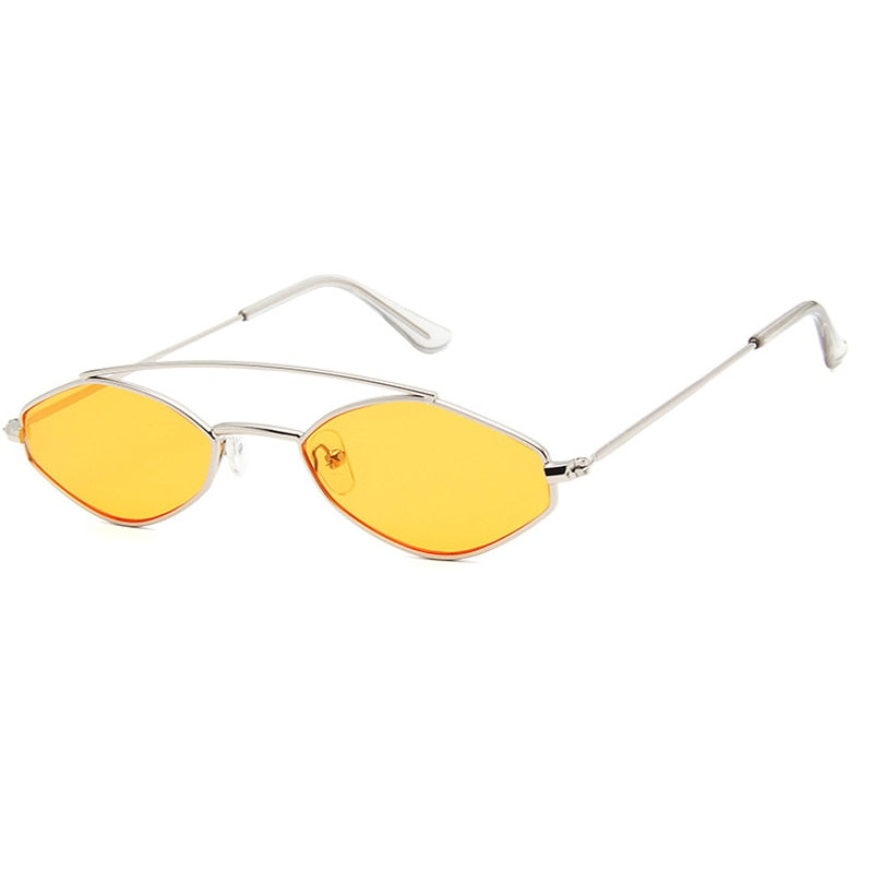 Giggle's Retro Oval Sunglasses