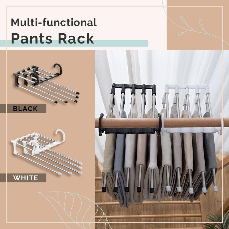 Multi-functional 5 in 1 Trouser Storage Pants Rack