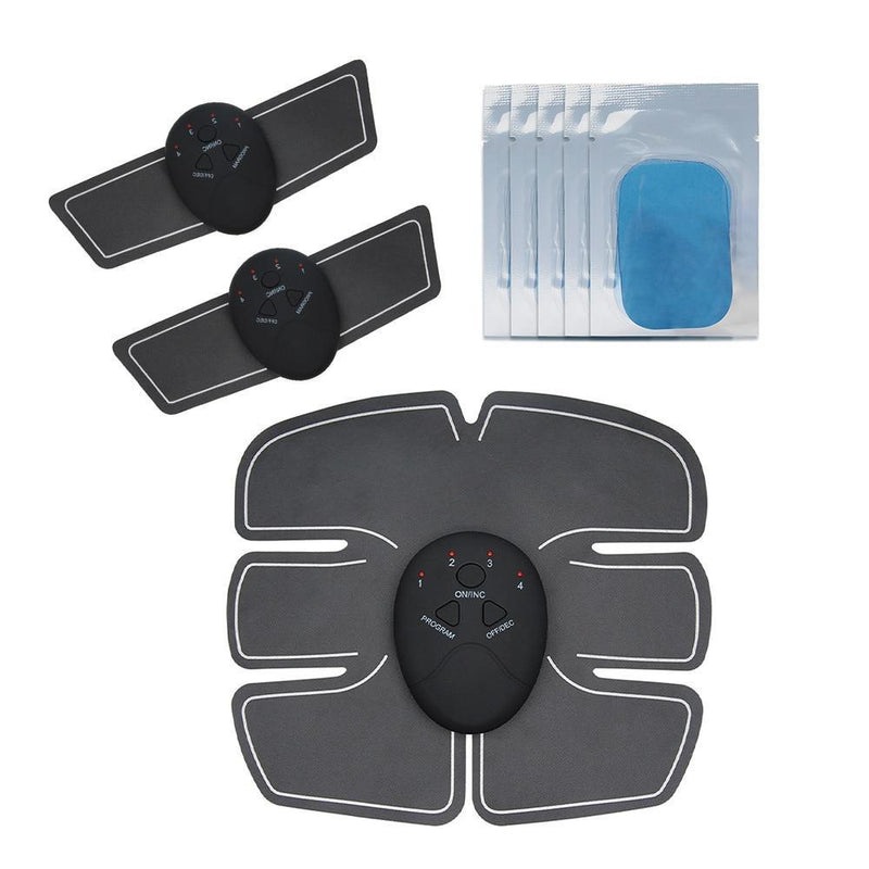 BodyFit Abs Muscle Toning Stimulator Electric 6 Pack EMS Fitness Trainer Belt Machine