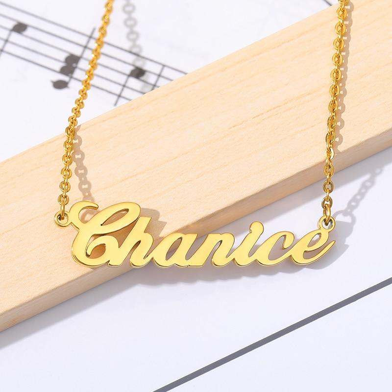 Personalized Custom Style Name Necklace Unique Gift