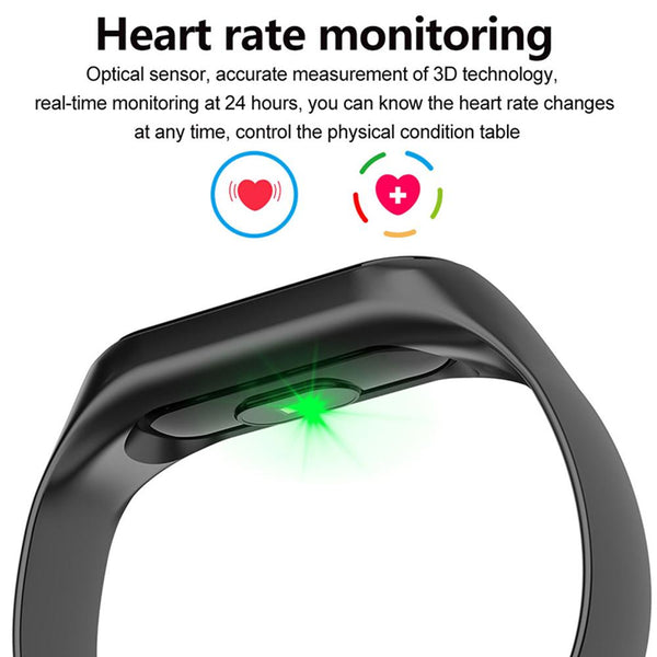 Waterproof Smart Fitness Tracker Bracelet