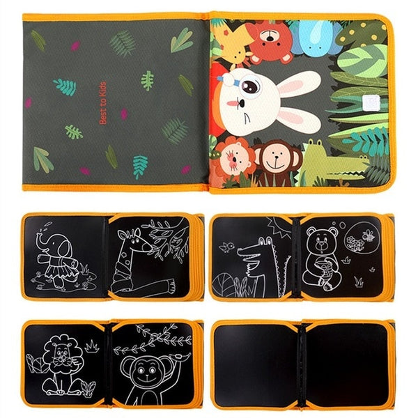 Kids Tumama Portable Drawing Board Book