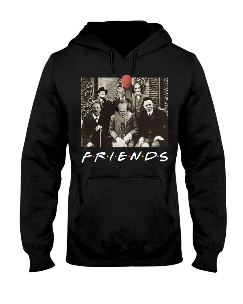 Horror Movie killers Friends Character Halloween Shirt