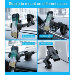 Holder Automatically Locking Windshield Phone Holder [UNIVERSAL FIT]
