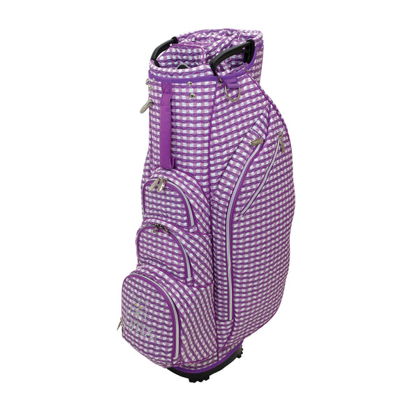 Checked Wave Ladies' Cart Bag