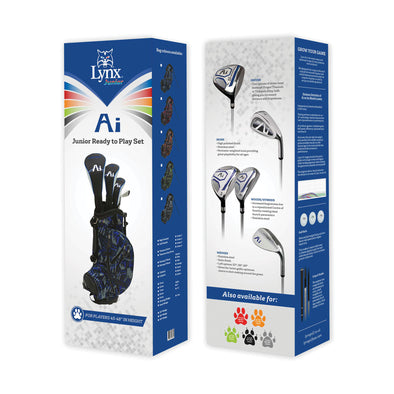 "Junior Ai Ready to Play Set 45-48"" (Left Handed) - Lynx Golf UK"