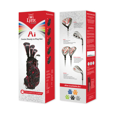 "Junior Ai Ready to Play Set 48-51"" (Left Handed) - Lynx Golf UK"