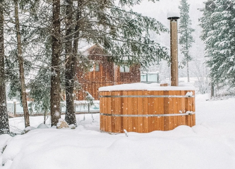 Wood-Fired Hot Tub Package