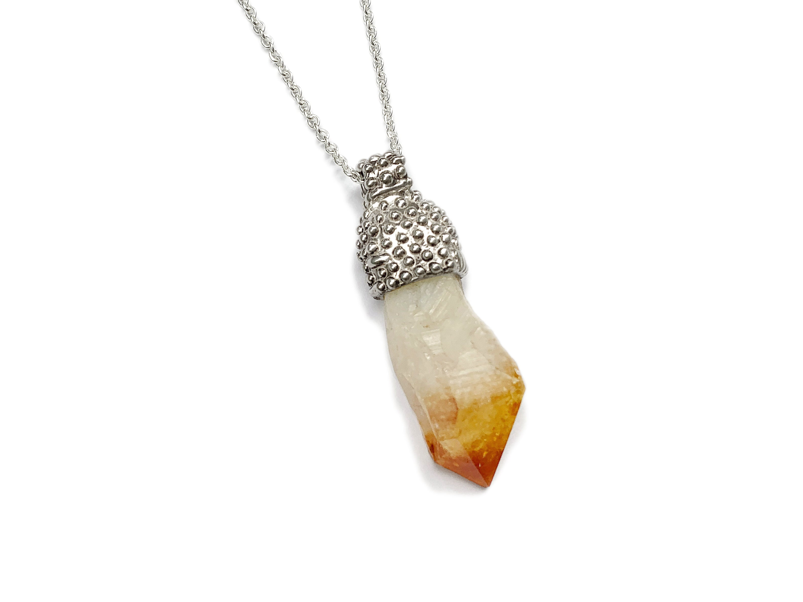Citrine on silver 4