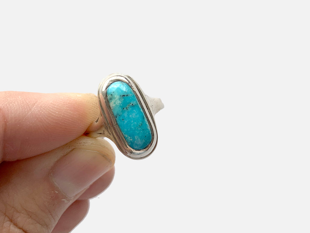 Turquoise ring, 6.75