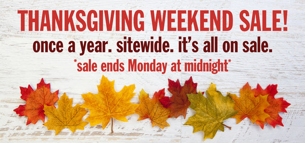 Thanksgiving Weekend Sale Michigan Awesome