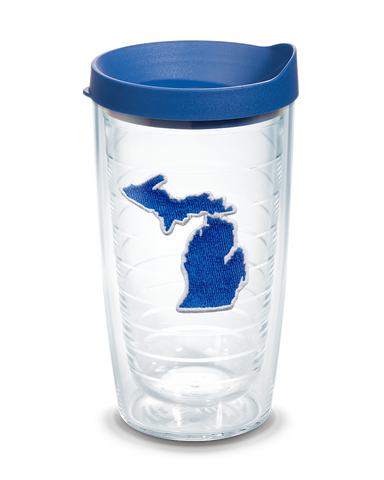 Michigan Emblem 16 oz Tervis® Tumbler
