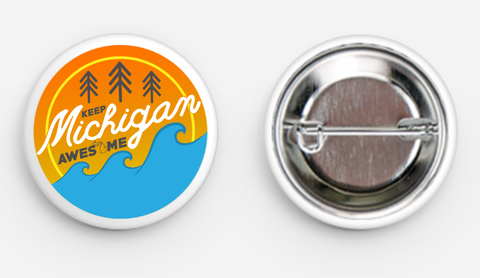 Keep Michigan Awesome Button