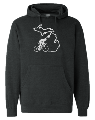 Bike Michigan Hoodie