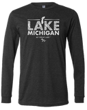 My Great Lake Michigan Long Sleeve T-Shirt
