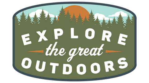 Explore the Great Outdoors Die-Cut Sticker